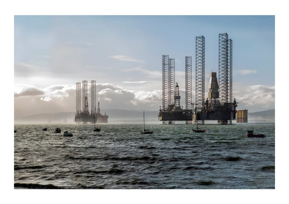 Cromarty Bay Rigs